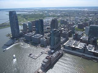 Exchange Place, Jersey City Neighborhood of Jersey City in New Jersey, United States