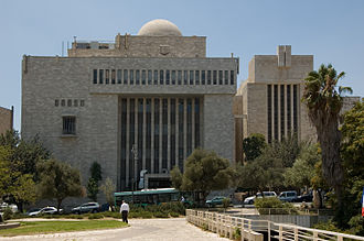 Israeli system of government - Jerusalem Great Synagogue, seat of Chief Rabbinate