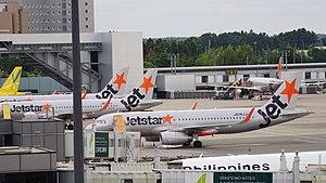 Jetstar Japan - Jetstar Japan's aircraft at Narita in 2017
