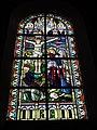 Jeumont (Nord, Fr) Église St.Martin, vitrail 06 La crucifixion.JPG