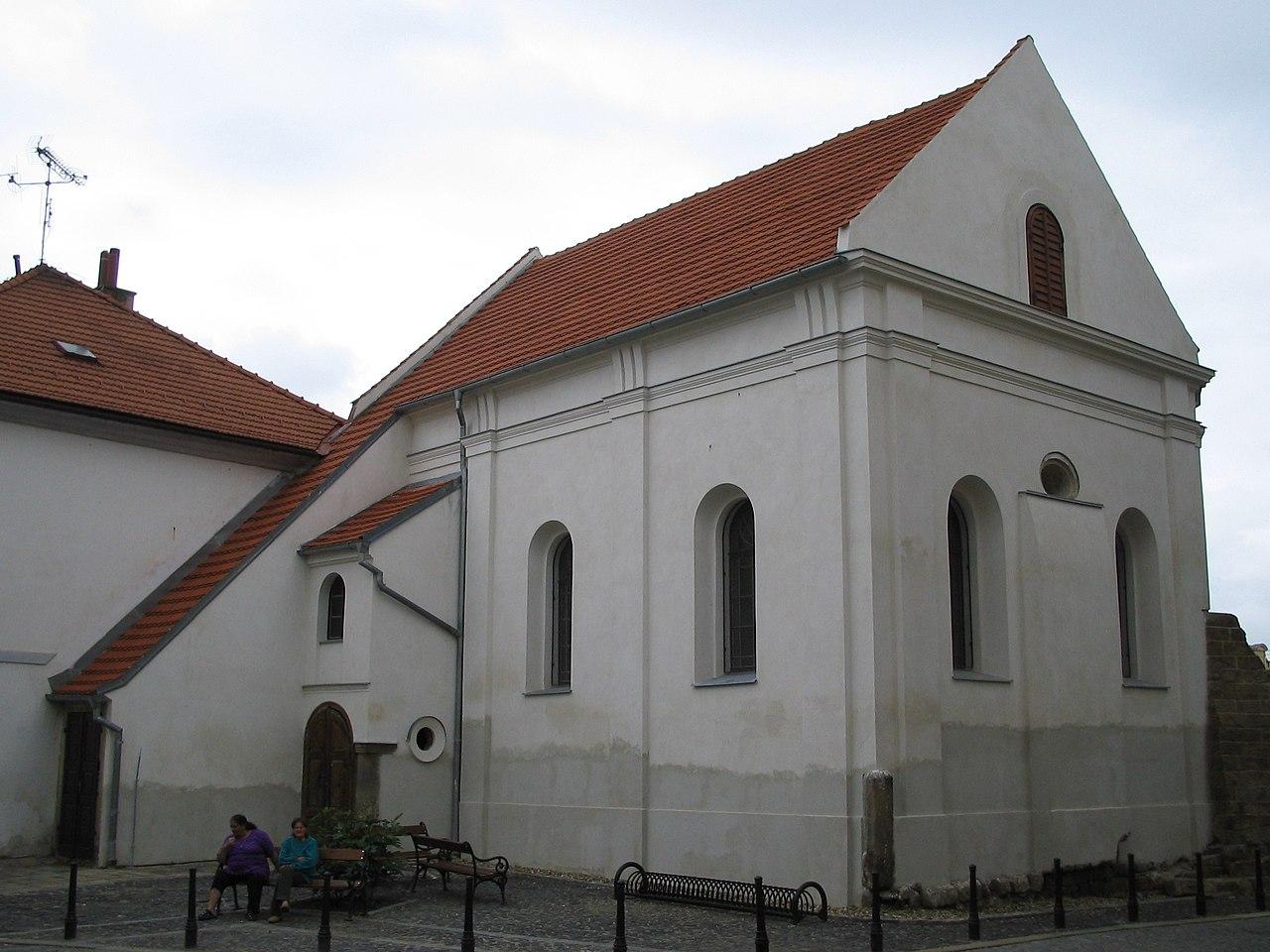Synagoga w JiczynieSynagoga v Jičíně
