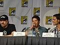 Jim Beaver, Misha Collins & Jared Padalecki (4851801787).jpg