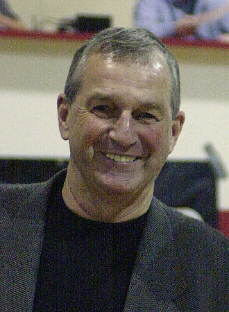 UPI College Basketball Coach of the Year - Jim Calhoun won in 1990 while coaching Connecticut.