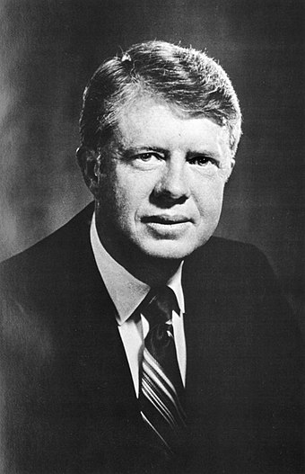 Carter's official portrait as Governor of Georgia Jimmy Carter official portrait as Governor.jpg