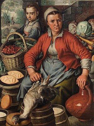 Joachim Beuckelaer - Market woman