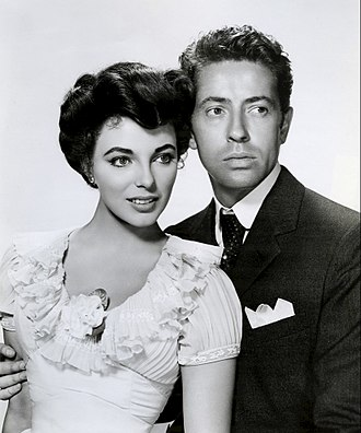 Joan Collins - Joan Collins and Farley Granger