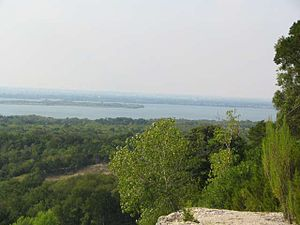 Cedar Hill, Texas - Joe Pool Lake from the east shore