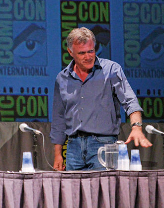Captain America: The First Avenger - Johnston at the 2010 San Diego Comic-Con International.