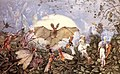 John Anster Fitzgerald - Fairy Hordes Attacking A Bat.jpg