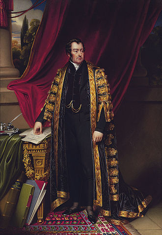 John Spencer, 3rd Earl Spencer - Lord Spencer as Chancellor of the Exchequer by Henry Pierce Bone.