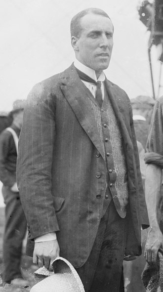 John Cyril Porte - Porte on 22 June 1914, day of the naming ceremony for Wanamaker's America.