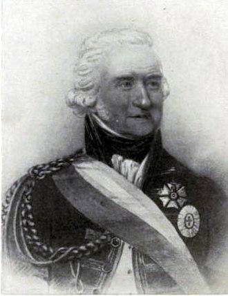 John Forbes (Portuguese general) - John Forbes in Portuguese Army uniform
