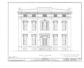 John H. Shoenberger House, 425 Penn Avenue, Pittsburgh, Allegheny County, PA HABS PA,2-PITBU,9- (sheet 1 of 6).png