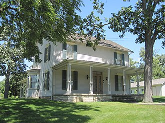 Orland Park, Illinois - The historic John Humphrey House