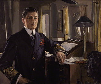 David Beatty, 1st Earl Beatty - David Beatty in 1917, by John Lavery