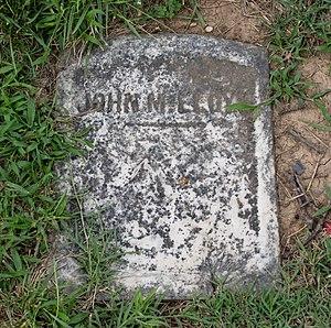 John M. Lloyd - Grave of John M. Lloyd at Mount Olivet Cemetery in Washington, D.C.