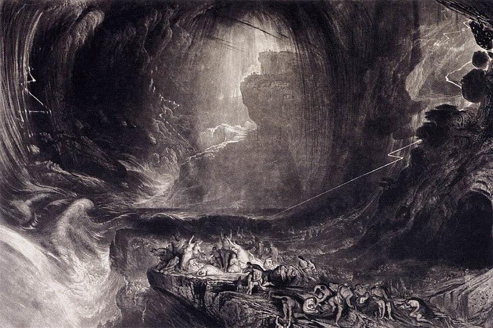 John Martin - The Evening of the Deluge - WGA14147