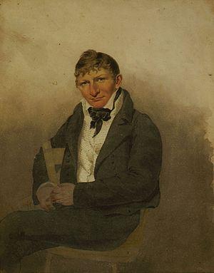 John Rubens Smith - Self-portrait, c. 1817