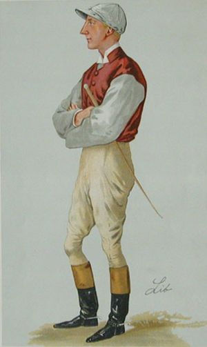 John Watts (jockey) - John Watts caricatured in Vanity Fair, 1887