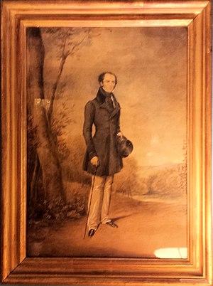 Sir John Lubbock, 3rd Baronet - John William Lubbock, 3rd Baronet ca 1843