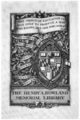Johns Hopkins University Rowland Library bookplate.png