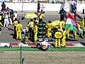 Jordan at the start grid at the 2003 Hungarian Grand Prix (4).jpg