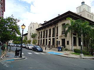 Jose V. Toledo Federal Building and United States Courthouse Historic building located in Old San Juan, Puerto Rico