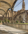 Josef Theodor Hansen - La Cappella dei Pazzi, Firenze - 1891.png