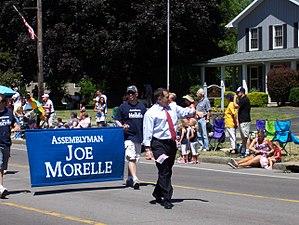 Joseph D. Morelle - Image: Joseph Morelle parade