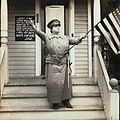 "Josie Sadler in 1914 film ""Josie's Declaration of Independence"""