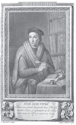 Retrato de Juan Luis Vives.