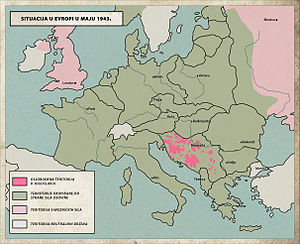 Case Black - Liberated territory in Yugoslavia, May 1943.