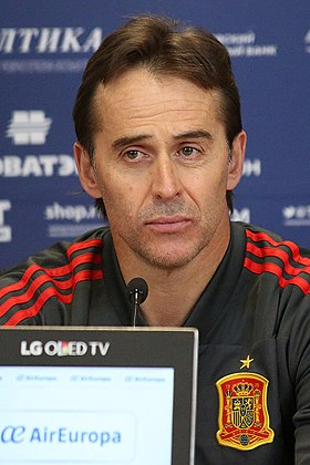 image illustrative de l'article Julen Lopetegui