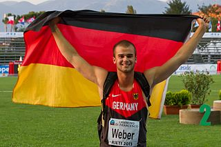 Julian Weber German athletics competitor
