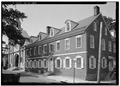 July 1973 GENERAL VIEW - ohn Fromberger Houses, 5501 Germantown Avenue, Philadelphia, Philadelphia County, PA HABS PA,51-PHILA,298-1.tif