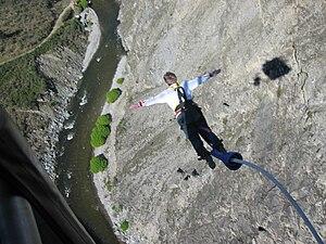 Nevis Highwire Platform - Jump from Nevis Highwire Platform
