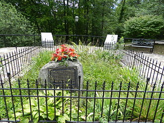 Robbinsville, North Carolina - The Grave of Cherokee Chief Junaluska and second wife Nicie