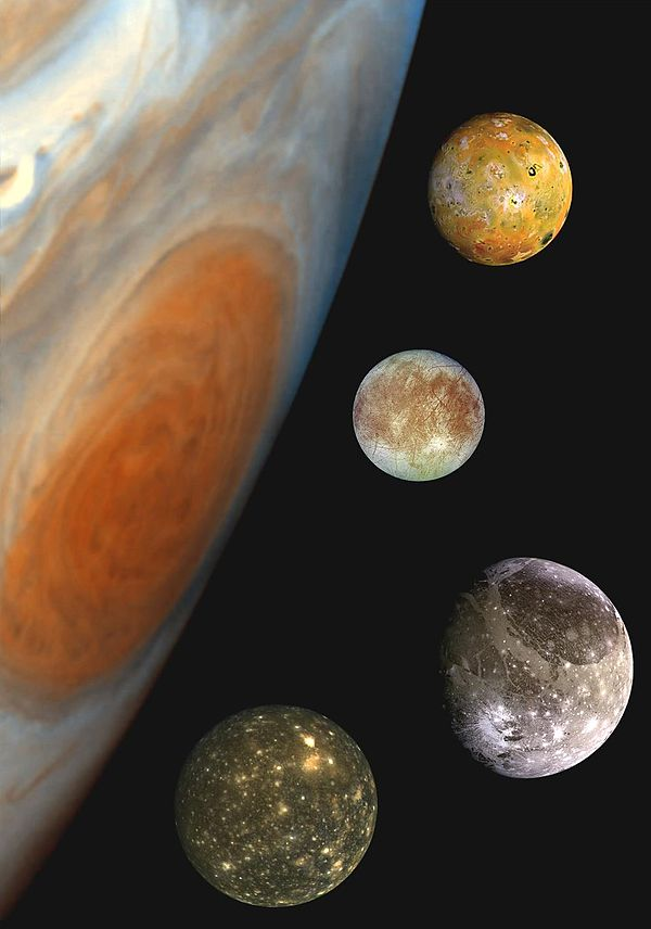 four moons galileo discovered - HD 1030×1470