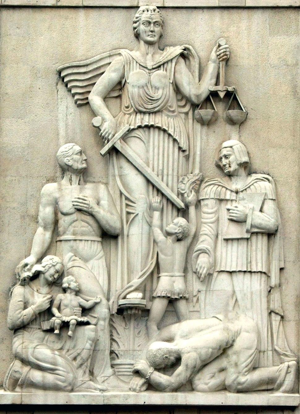 Justice Statue Iran