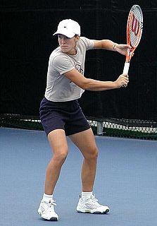 Backhand Tennis shot