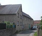 Sterbehaus Bad Köstritz, Berggasse, Wohnung 1. Stock (Quelle: Wikimedia)