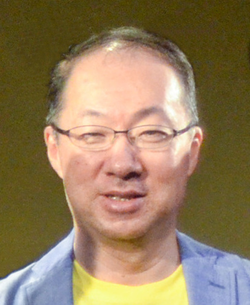 Kōji Kondō 2015 (cropped - cleaned).png