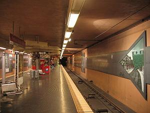 Köln-Ehrenfeld station - Venloer Straße/Gürtel underground station