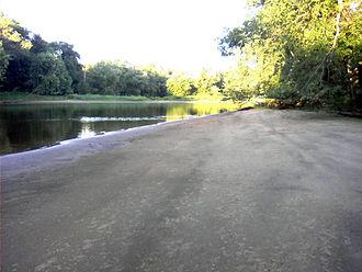 Kankakee River - Image: K3 River near state line