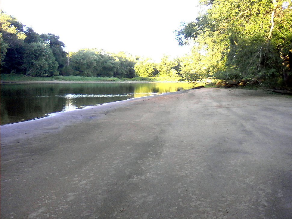 K3 River near state line