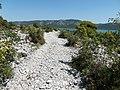 KAMENNÁ CESTA K VRANSKÉMU JAZERU - STONY WAY TO THE LAKE VRANA - panoramio.jpg