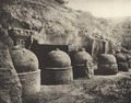 KITLV 88088 - Unknown - Stupas at the temple at Bhaja Karle in British India - 1897.tif