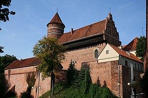 Olsztyn - Image: KP, Olsztyn, zamek 2