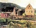 K Schickhardt - Stangelsche Mühle in Bad Niedernau ÖaL 1924 (BVuHSi30).jpg