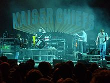 Kaiser Chiefs na Rock for People 2008